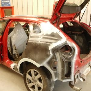 Chassis repair & paintwork